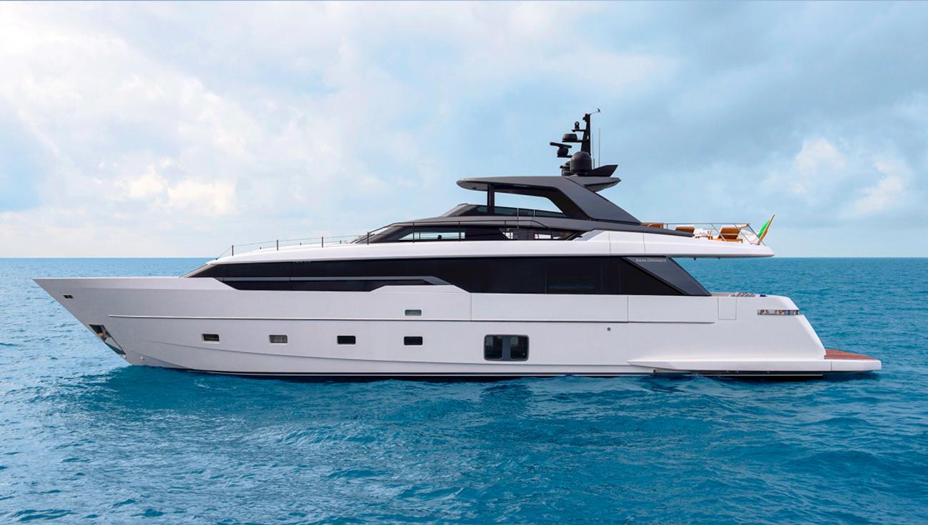SanLorenzo Yacht 96 meter